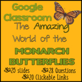 Google Classroom Distance Learning - Metamorphosis of the Monarch Butterfly