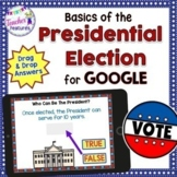 Google Classroom Distance Learning Presidential Election 2020 (Text & Quiz)