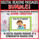 Google Classroom Distance Learning Reading BUNDLE