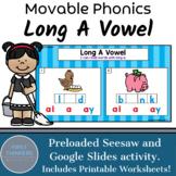 Long A Vowel Teams Phonics Game Google Slides Seesaw Printable Worksheets