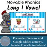 Long I Vowel Teams Phonics Game Google Slides Seesaw Printable Worksheets