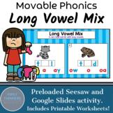 Long Vowel Teams Phonics Game Google Slides Seesaw Printable Worksheets
