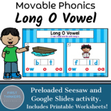 Long O Vowel Teams Phonics Game Google Slides Seesaw Printable Worksheets