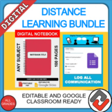 Google Classroom Distance Learning Resource Bundle: For Any Class