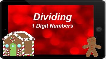 Google Classroom: Dividing Review- Winter Theme