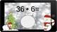 Google Classroom: Dividing by 6s - Winter Theme