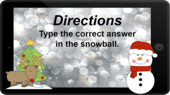 Google Classroom: Dividing by 7s - Winter Theme