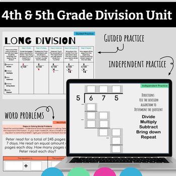 Google Classroom Division Unit