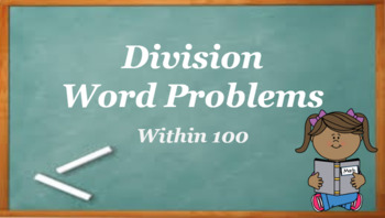 Google Classroom- Division Word Problems