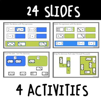 Dominoes 1-10: Digital Activities for Google Classroom