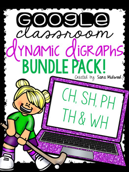 Google Classroom Dynamic Digraphs: Digraph BUNDLE for CH, PH, SH, TH and WH