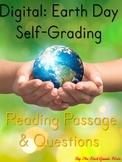 Google Classroom: Earth Day Reading & Comprehension Distan