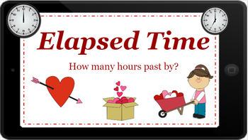 Google Classroom: Elapsed Time Activity