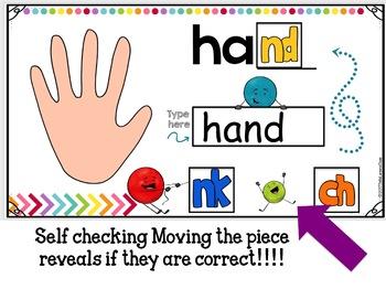 Google Classroom Ending Digraphs For First Grade