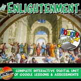 Google Classroom Enlightenment Age of Reason Lesson Activities Unit Plan