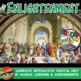 Google Classroom Enlightenment Bundle Age of Reason Lesson