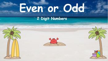 Google Classroom- Even or Odd- 2 Digit