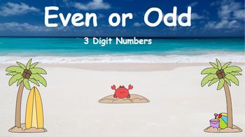 Google Classroom- Even or Odd 3 Digit