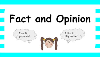 Google Classroom- Fact and Opinion Interactive Activity
