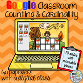 Google Classroom Fall Counting and Cardinality with ten frames
