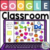 Google Classroom Find the Beginning Sound with EASEL