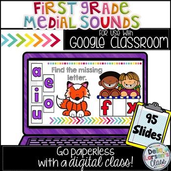 Google Classroom First Grade Vowel Sounds
