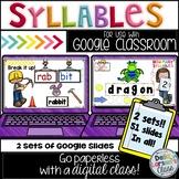 Google Classroom First Grade Syllables