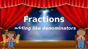 Google Classroom: Fractions- Adding Like Denominators