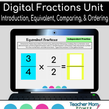 Google Classroom Fractions Unit Equivalent, Comparing, and Ordering Fractions