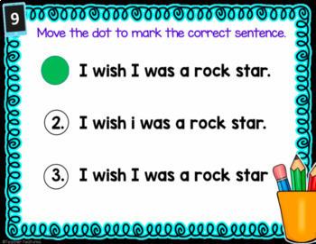 Google Classroom Activities READING & SENTENCE WRITING BUNDLE 1st & 2nd Grade