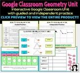 Google Classroom Geometry Unit