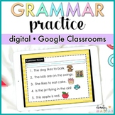 Google Classroom™ Grammar Practice Digital - Distance Learning