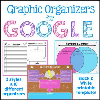 Google Classroom Graphic Organizers