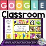 Google Classroom  Guess The Animal Listening Center