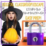 Halloween Activities Google Classroom Math Digital Escape Room