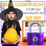 Halloween Activities Google Classroom Digital Escape Room