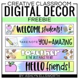 Google Classroom Header Freebie