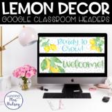 Google Classroom Headers (Lemon Dot)