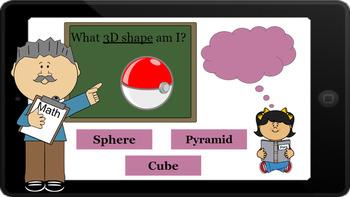 Google Classroom: Identify 3D Shapes