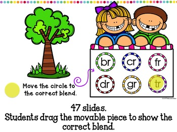 Google Classroom Identifying R Blends in First Grade Distance Learning