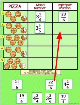 Google Classroom Math   Mixed Numbers & Improper Fractions