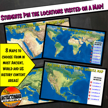 Google Classroom Instagram Physical Geography Activities Lesson