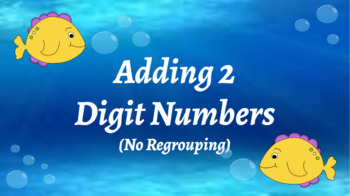 Google Classroom- Interactive 2 Digit Addition No Regrouping