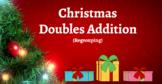 Google Classroom- Interactive 2 Digit Addition Regrouping - Christmas Theme