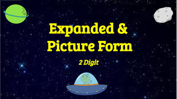 Google Classroom: Interactive 2 Digit Expanded and Picture Form Activity