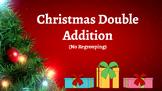Google Classroom: Interactive 2 Digit No Regrouping Addition - Christmas Theme