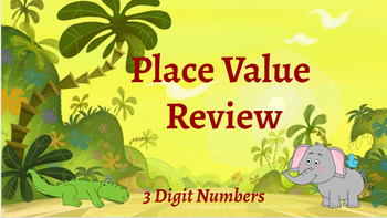 Google Classroom: Interactive 3 Digit Place Value Review