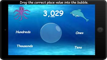 Google Classroom: Interactive 4 Digit Place Value Activity