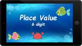 Google Classroom: Interactive 6 Digit Place Value Activity