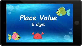 Google Classroom: Interactive 6 Digit Place Value Activity